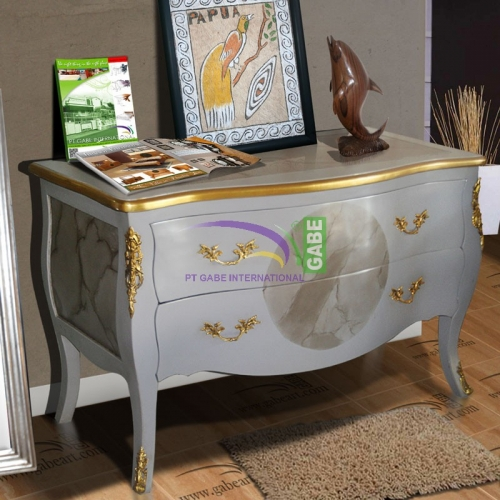 Commode Luis XIV 2 Drawers