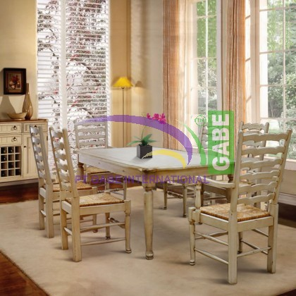 Dining table Country Style ,LadderBack Disign