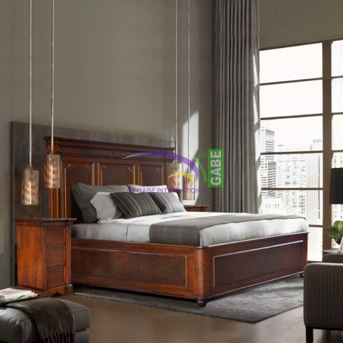 RIVAGE BED KING SIZE TEAK WOOD
