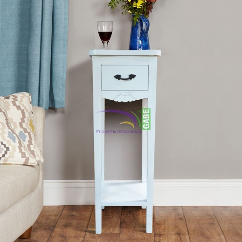SIDE TABLE DALLAS PAINTED