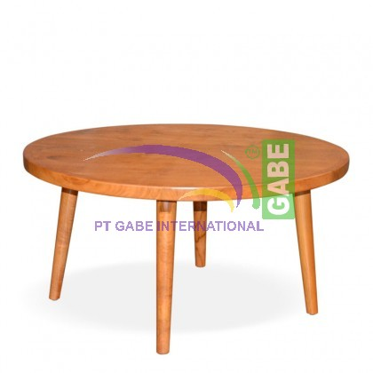 Teak Round Coffee Table