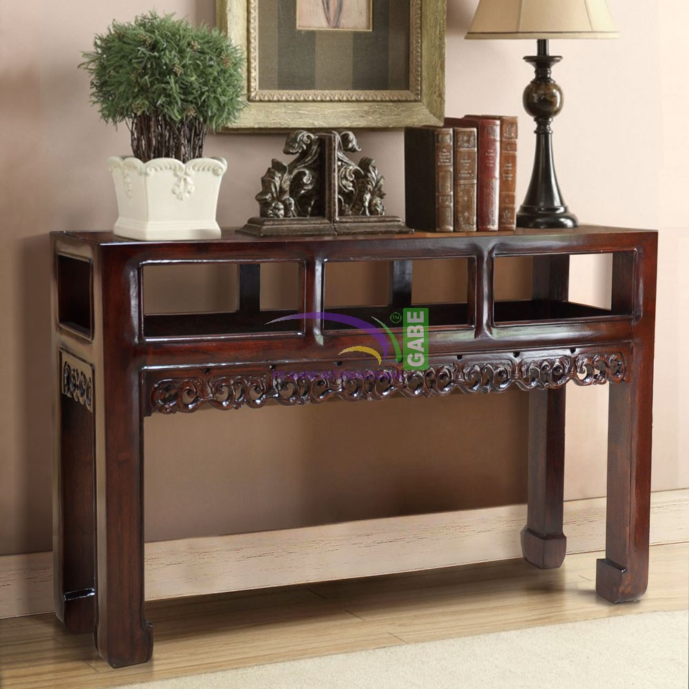 Superbe CONSOLE TABLE ORIENTAL ELLY