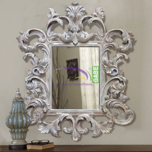 MIRROR WITH CARVING FRAME PATRAS