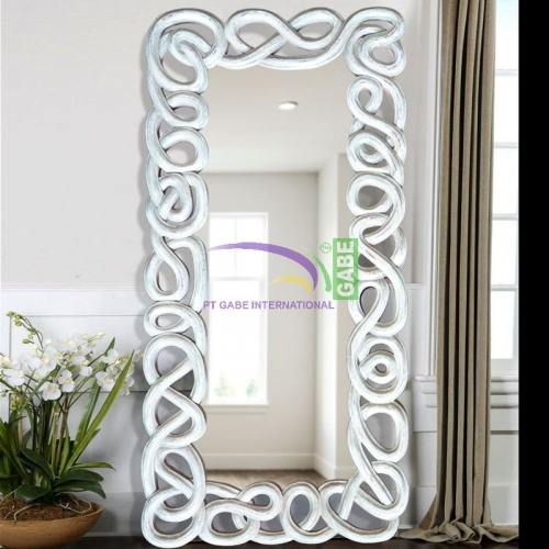 MIRROR WITH CARVING FRAME ARGOS