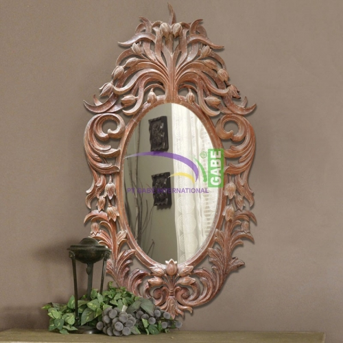 MIRROR WITH CARVING FRAME ONTARIO