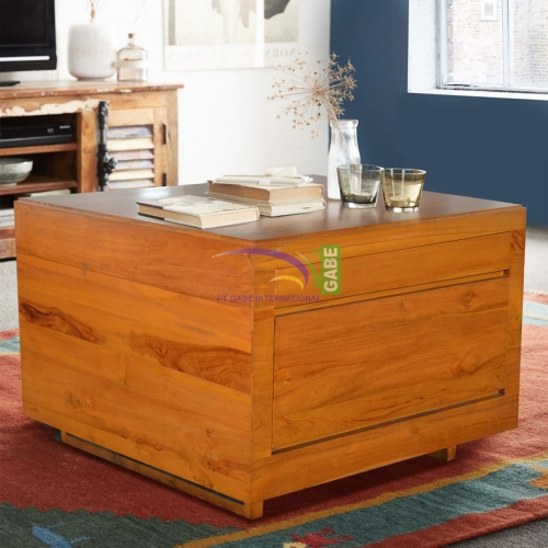 TRUNK BOX DOUBLE FACE WITH DRAWERS
