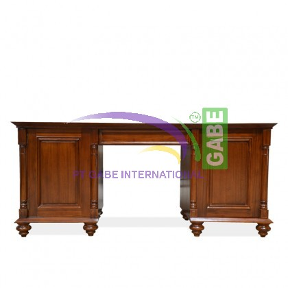 Office desk america teak wood - Teak office desk ...