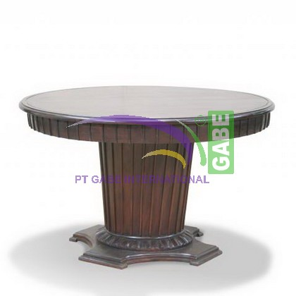 LARGE RIBBED TABLE